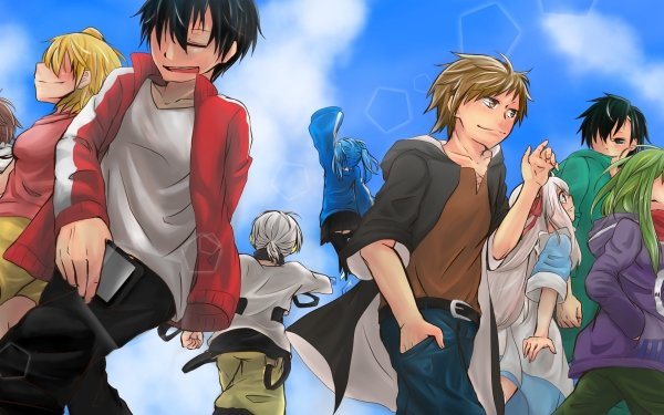 Anime Kagerou Project Kagerou Days Sky HD Wallpaper | Background Image