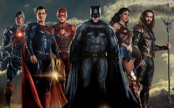 Movie Justice League Cyborg Superman Flash Batman Wonder Woman Aquaman HD Wallpaper   Background Image