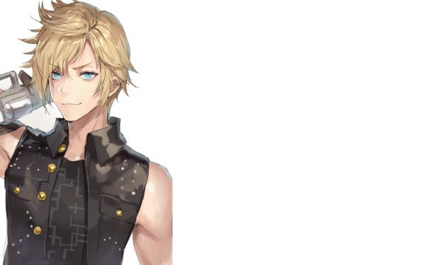 Video Game Final Fantasy XV Final Fantasy Prompto Argentum Boy HD Wallpaper   Background Image