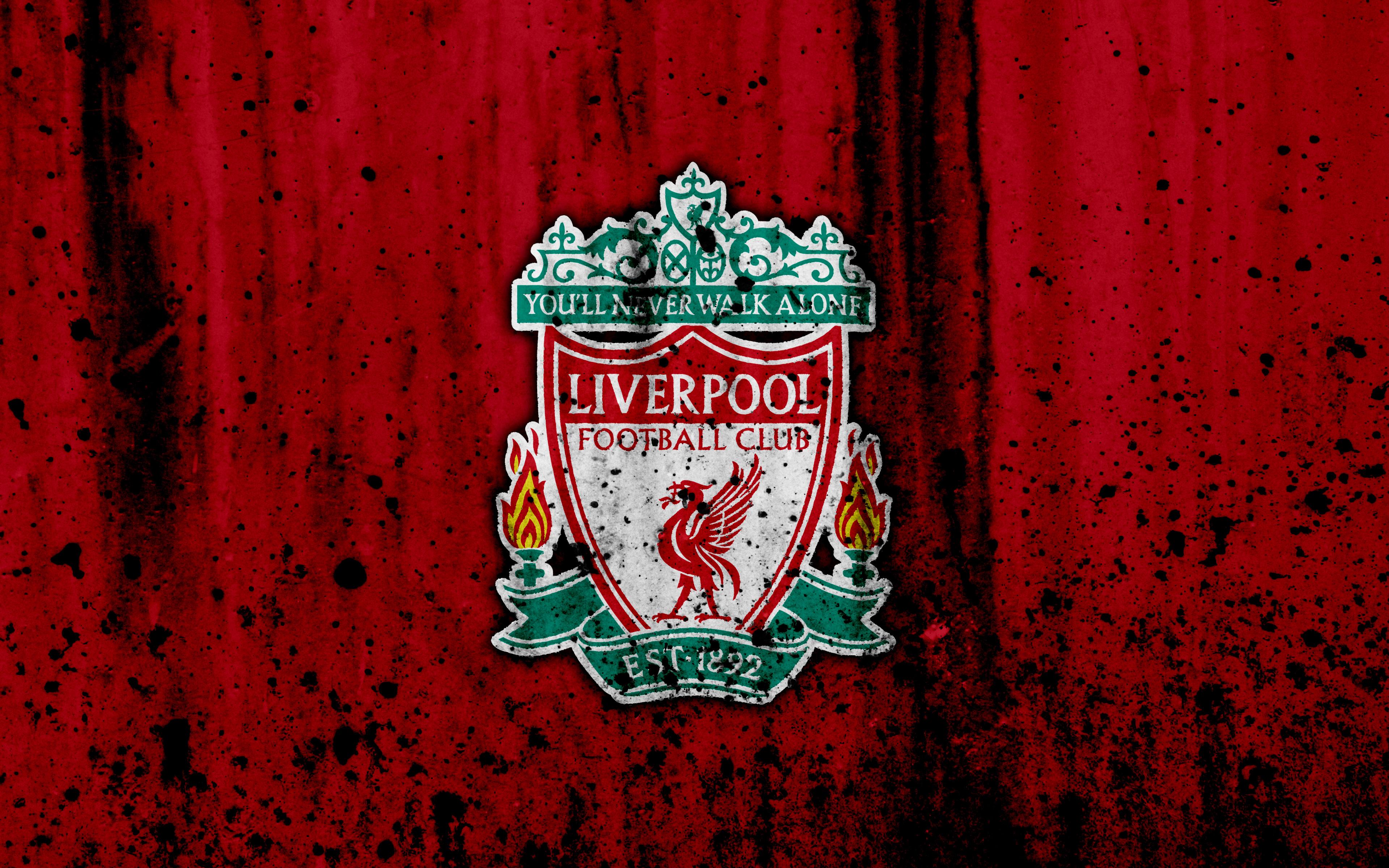 Liverpool Logo 4k Ultra Hd Wallpaper Background Image 3840x2400 Id 969481 Wallpaper Abyss