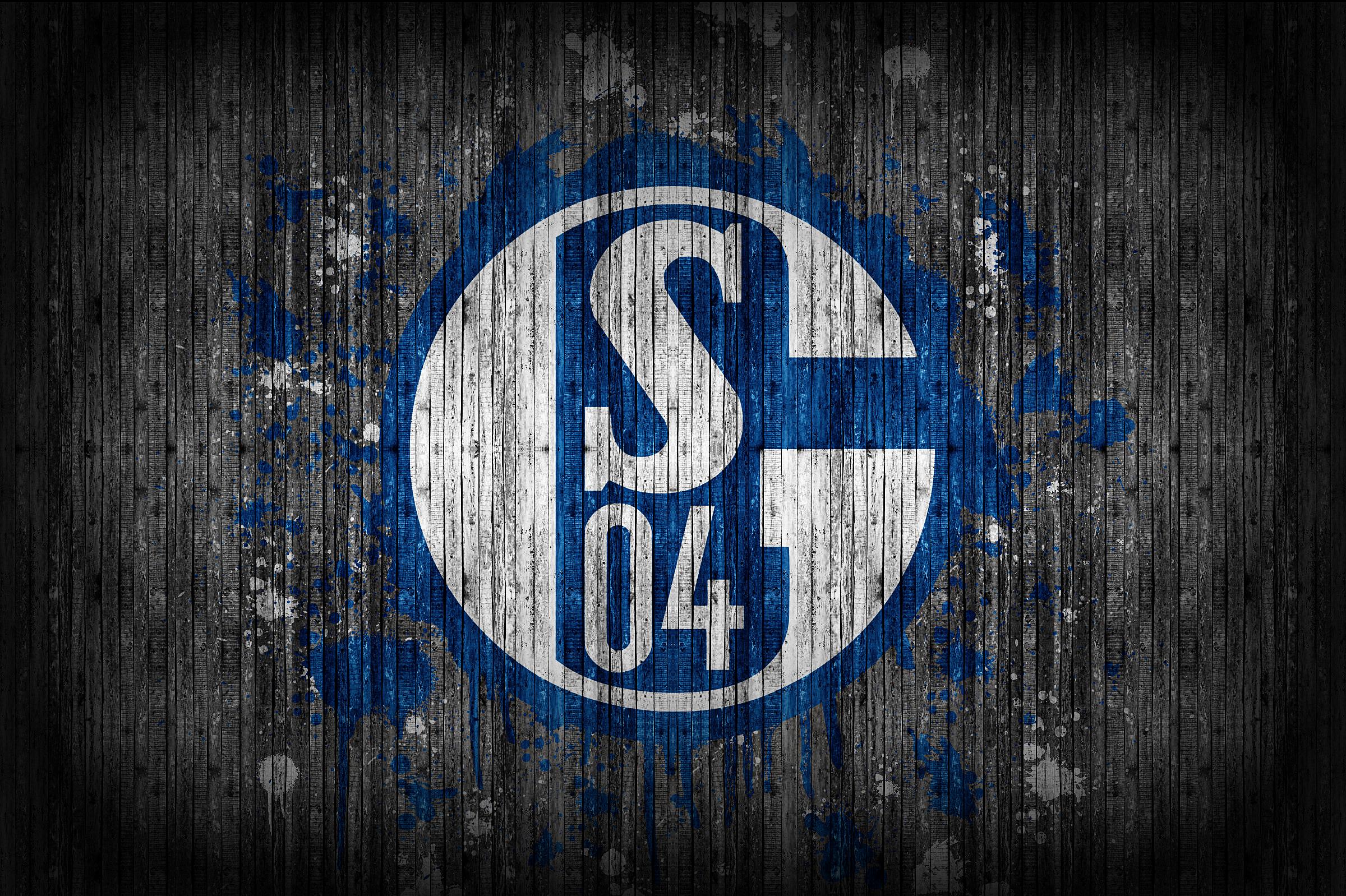 Schalke Logo Fondo de pantalla HD | Fondo de Escritorio | 2400x1598 |  ID:970280 - Wallpaper Abyss