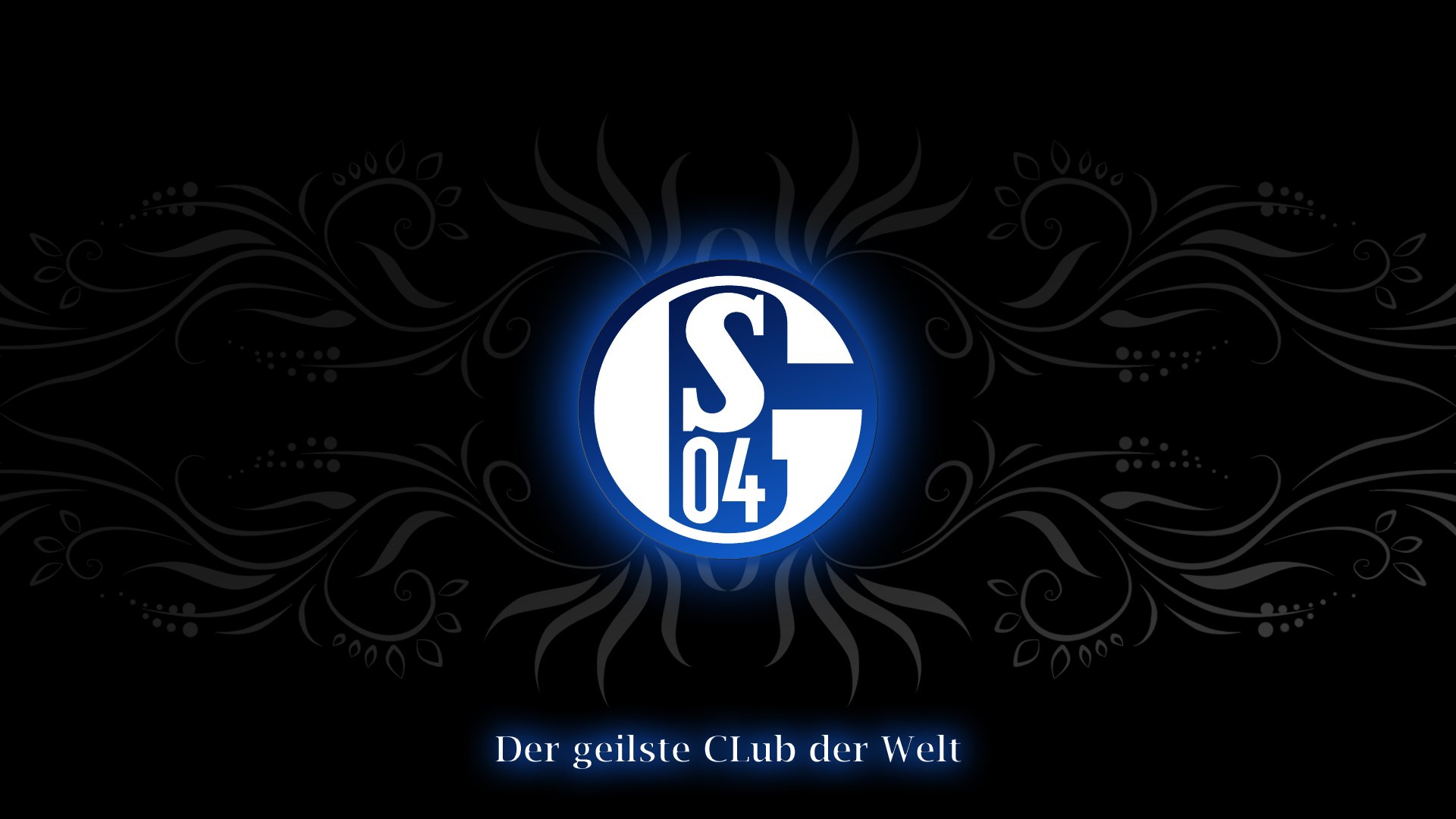 Schalke Logo Hd Wallpaper Hintergrund 1920x1080 Id 970275 Wallpaper Abyss