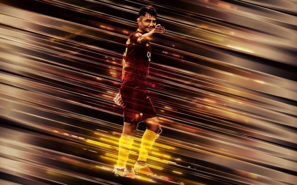 Sports Cengiz Ünder Soccer Player Turkish A.S. Roma HD Wallpaper   Background Image