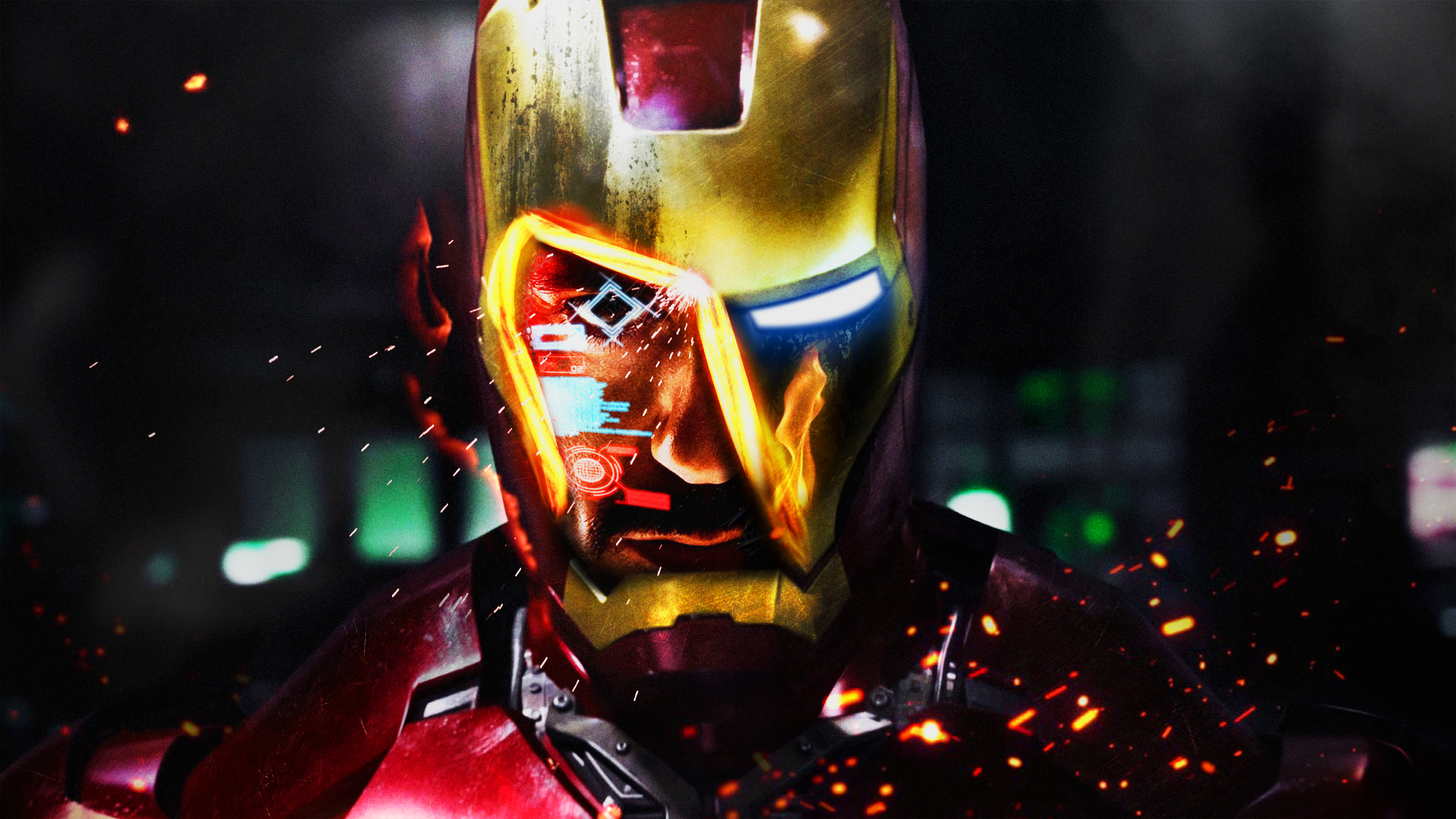 Iron man 4k ultra hd wallpaper background image 3840x2160 id 972690 wallpaper abyss - Iron man wallpaper 4k ...