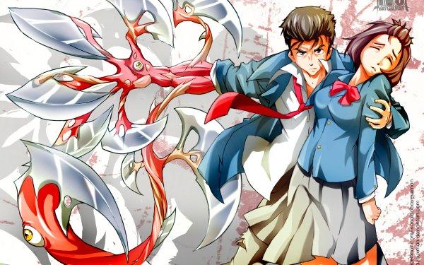 Anime Parasyte -the maxim- Shinichi Izumi Satomi Murano HD Wallpaper | Background Image