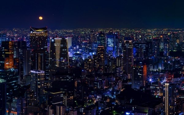 Man Made Tokyo Cities Japan Night City Cityscape Building Skyscraper Tokyo Tower HD Wallpaper | Background Image