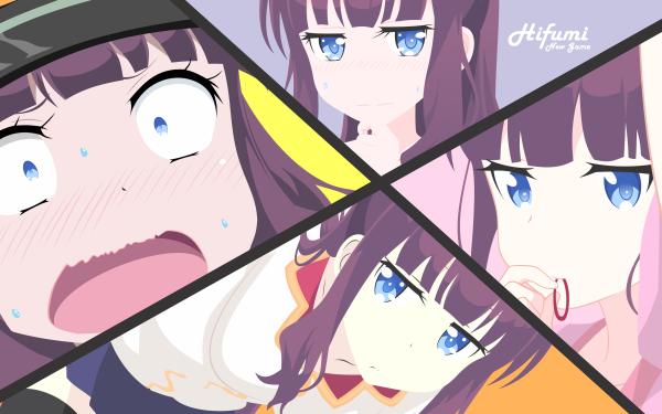 Anime New Game! Hifumi Takimoto HD Wallpaper | Background Image