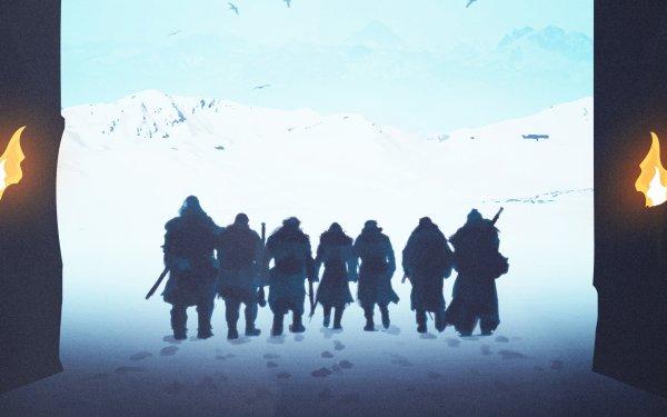 TV Show Game Of Thrones Jon Snow Beric Dondarrion Jorah Mormont Thoros of Myr Sandor Clegane Tormund Giantsbane Gendry HD Wallpaper   Background Image
