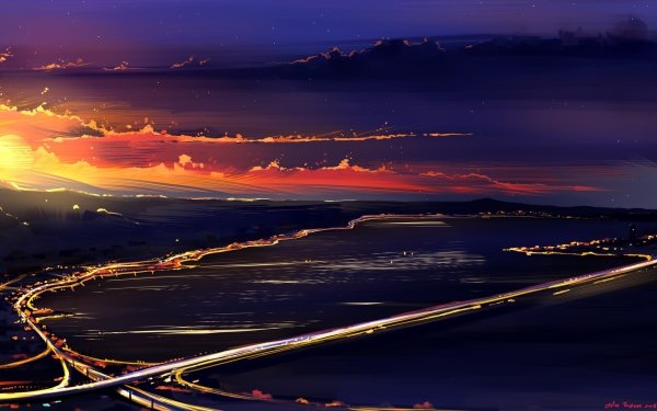 Artistic Sunset Sunlight Cloud HD Wallpaper | Background Image