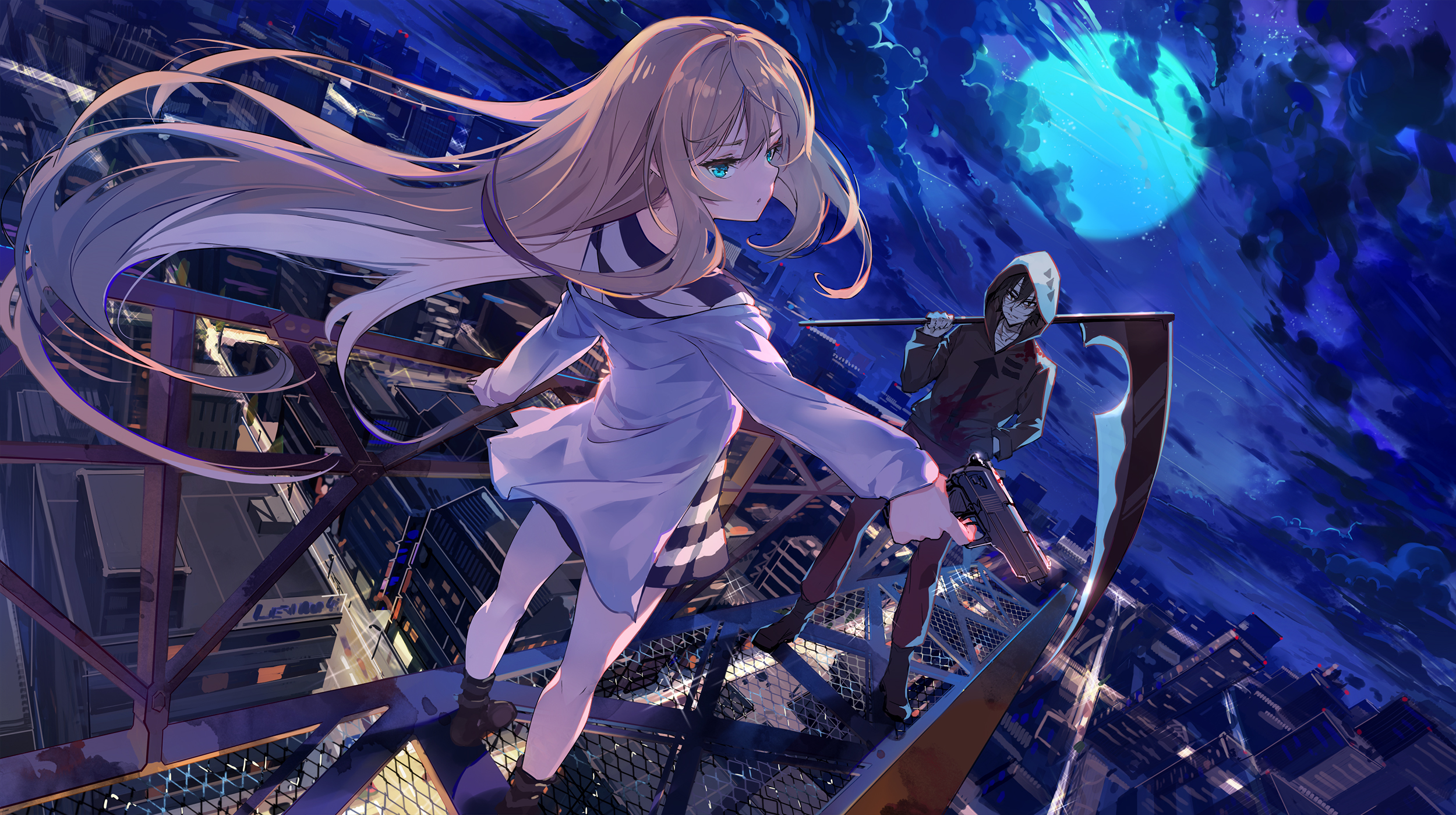 Angels Of Death Hd Wallpaper Background Image 2500x1400 Id