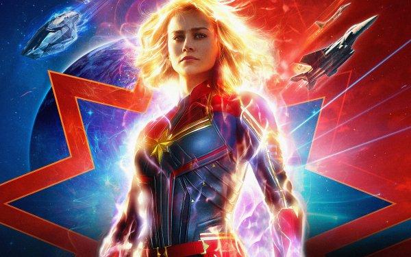 Películas Capitana Marvel Brie Larson Fondo de pantalla HD | Fondo de Escritorio
