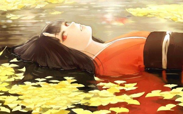 Anime Original Oni Water Fall HD Wallpaper | Background Image