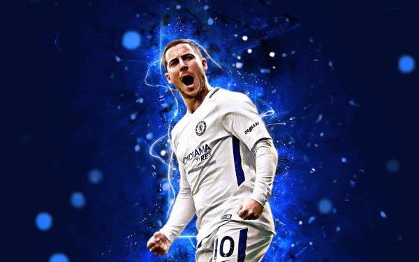 Sports Eden Hazard Soccer Player Belgian Chelsea F.C. HD Wallpaper | Background Image