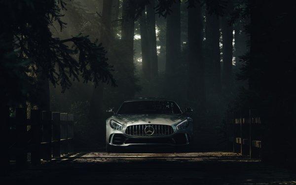 Vehicles Mercedes-Benz AMG GT Mercedes-Benz Car Silver Car Sport Car Supercar HD Wallpaper | Background Image