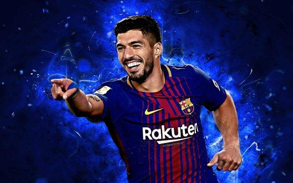 Sports Luis Suarez Soccer Player Uruguayan FC Barcelona HD Wallpaper | Background Image
