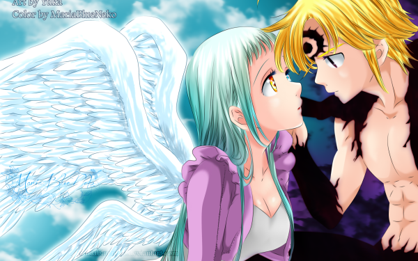 Anime The Seven Deadly Sins Meliodas Elizabeth Liones HD Wallpaper | Background Image