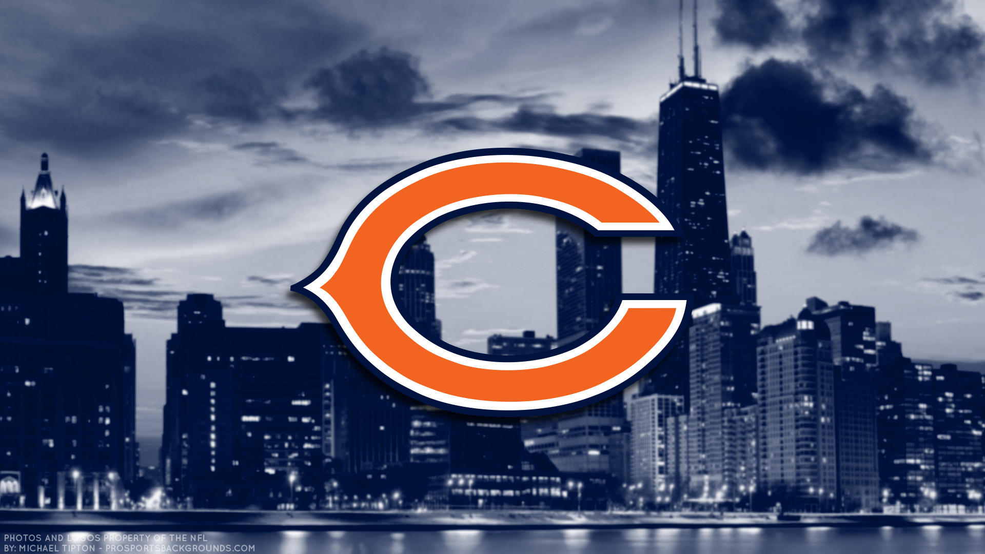 Chicago Bears Hd Wallpaper Background Image 1920x1080