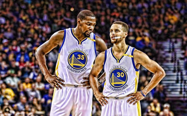 Sports Golden State Warriors Basketball Kevin Durant Stephen Curry HD Wallpaper | Background Image