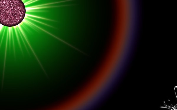 Abstract Cool Colors Solar HD Wallpaper | Background Image
