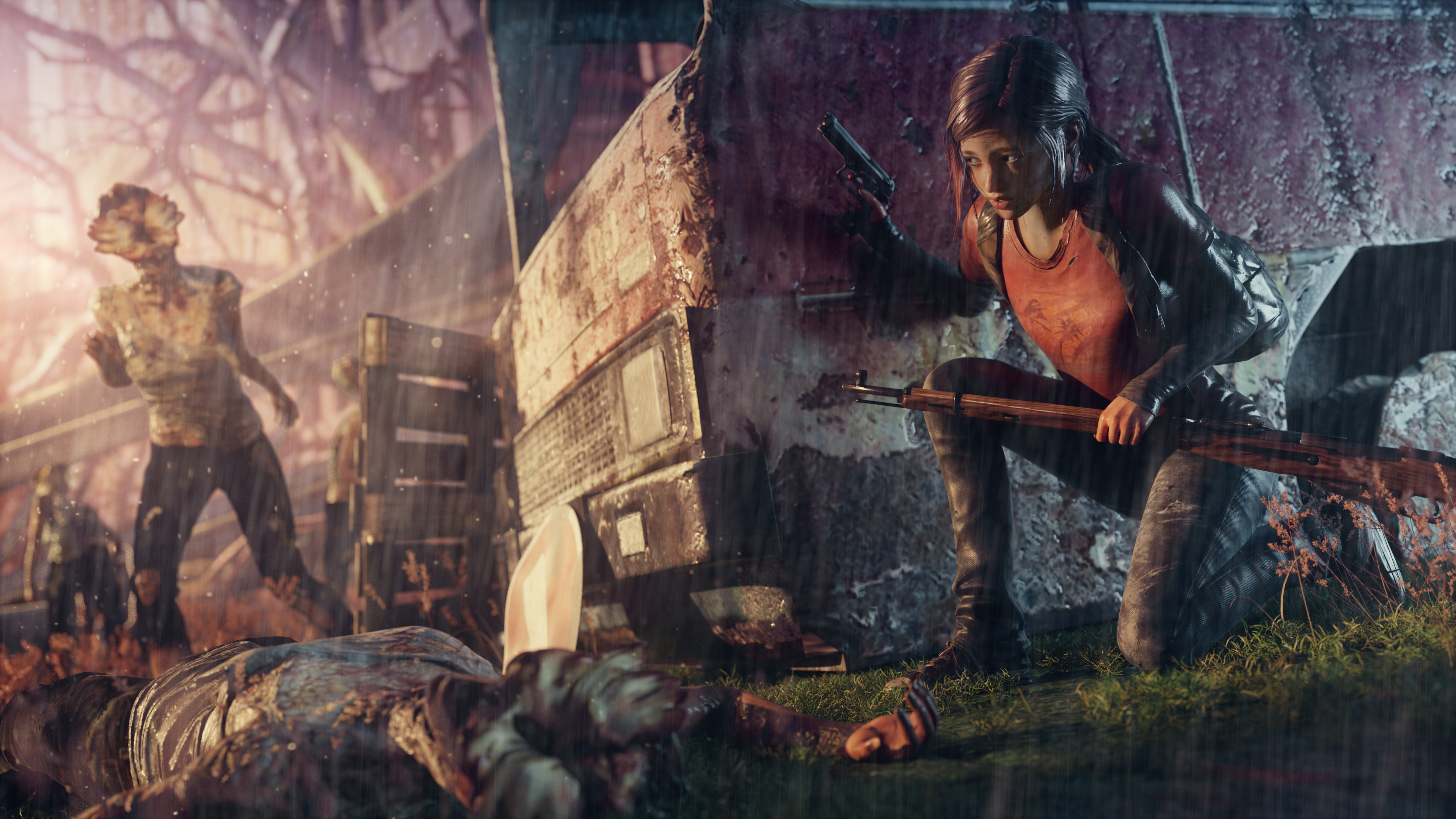 The Last Of Us 4k Ultra Fondo De Pantalla Hd Fondo De
