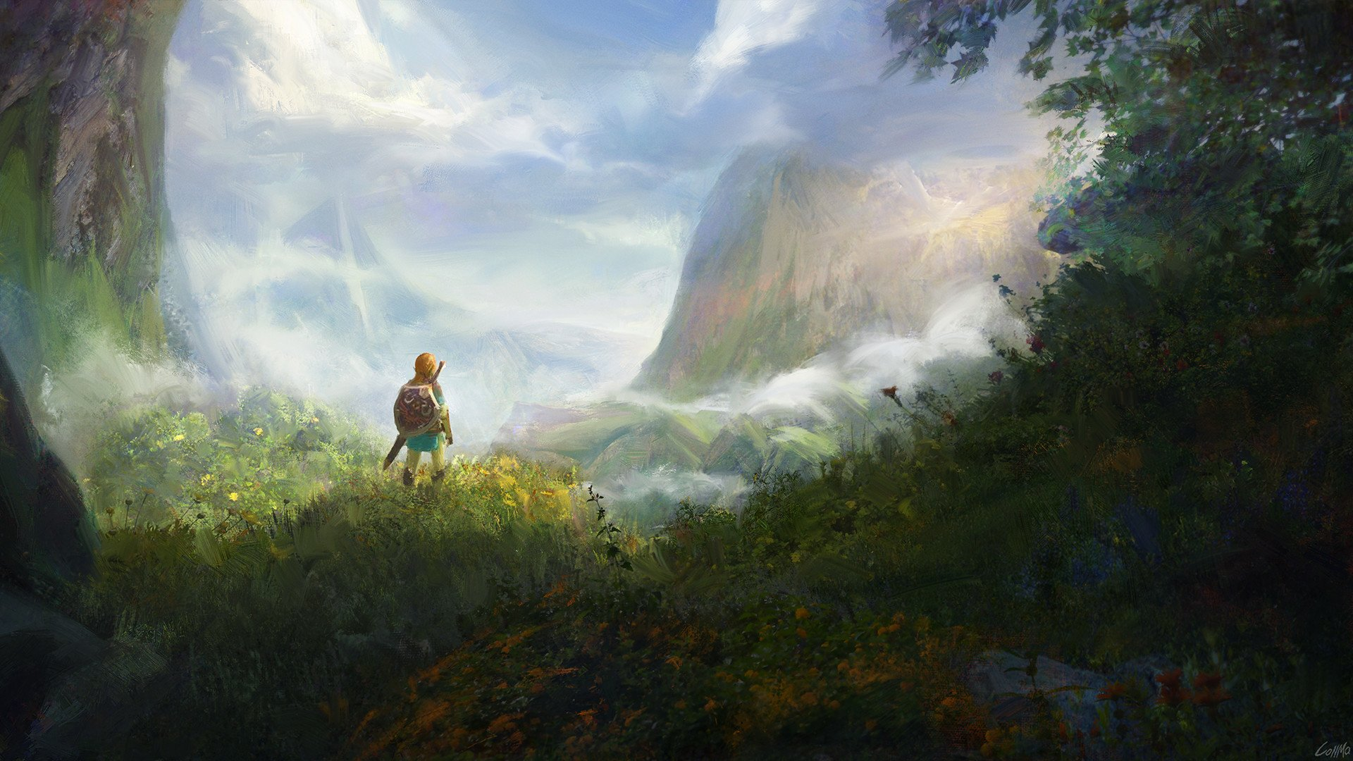 Breath Of The Wild Hd Wallpaper Background Image 1920x1080