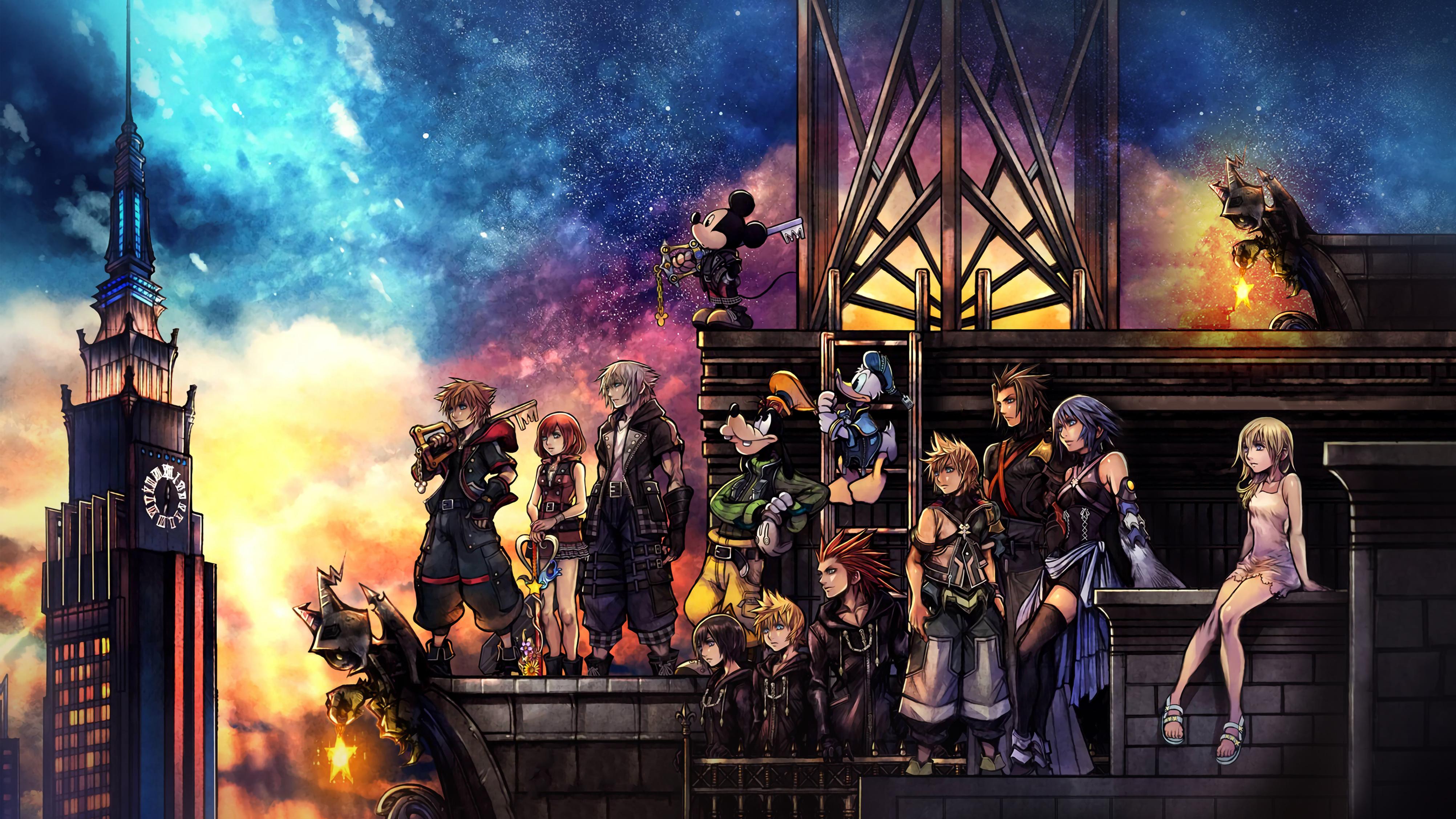 Kingdom Hearts Wallpaper (123 Wallpapers) - 3D Wallpapers