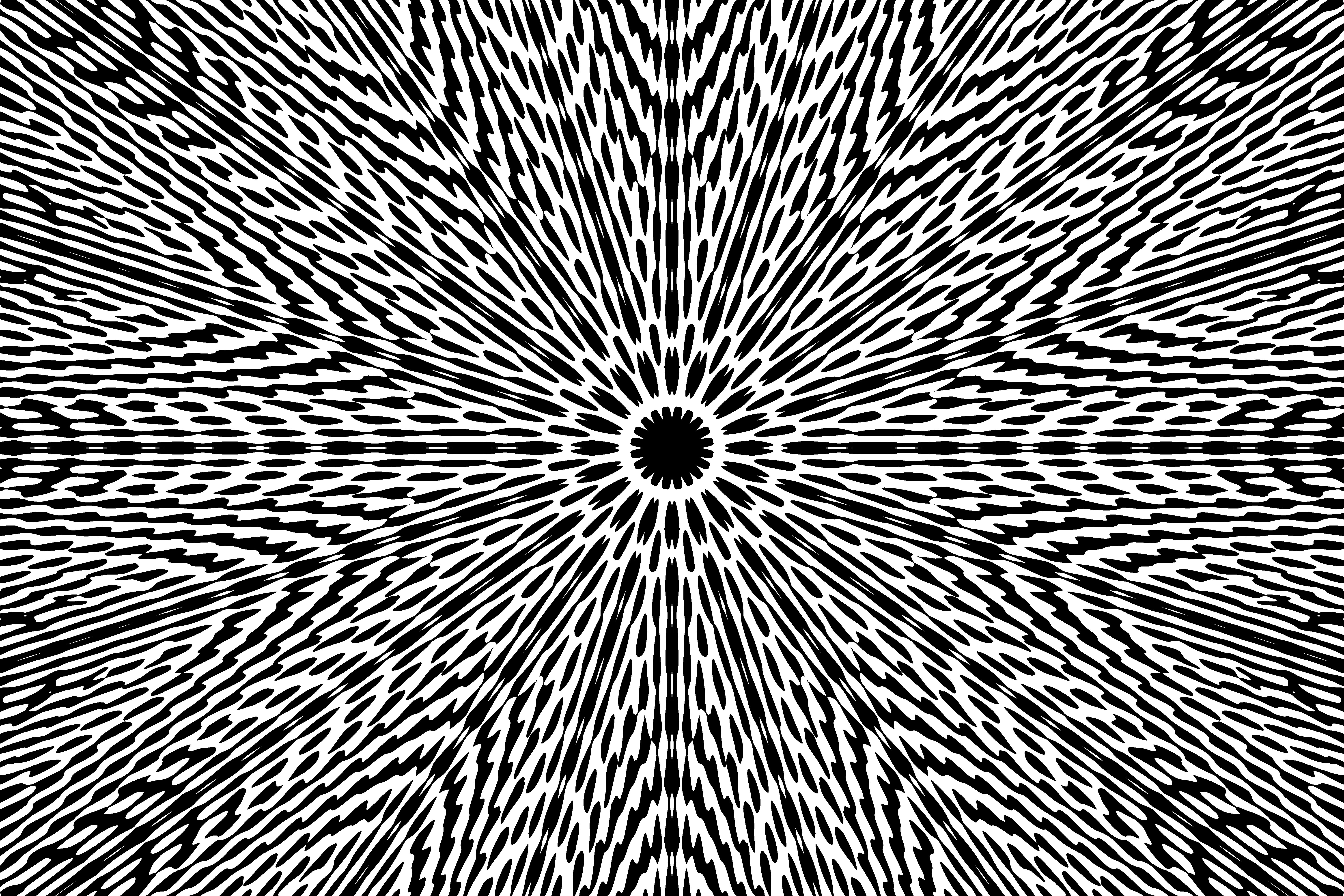 Abstract Black And White 5k Retina Ultra Hd Wallpaper