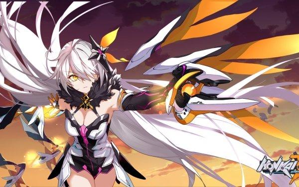 Video Game Honkai Impact 3rd Void Herrscher Kiana Kaslana HD Wallpaper | Background Image