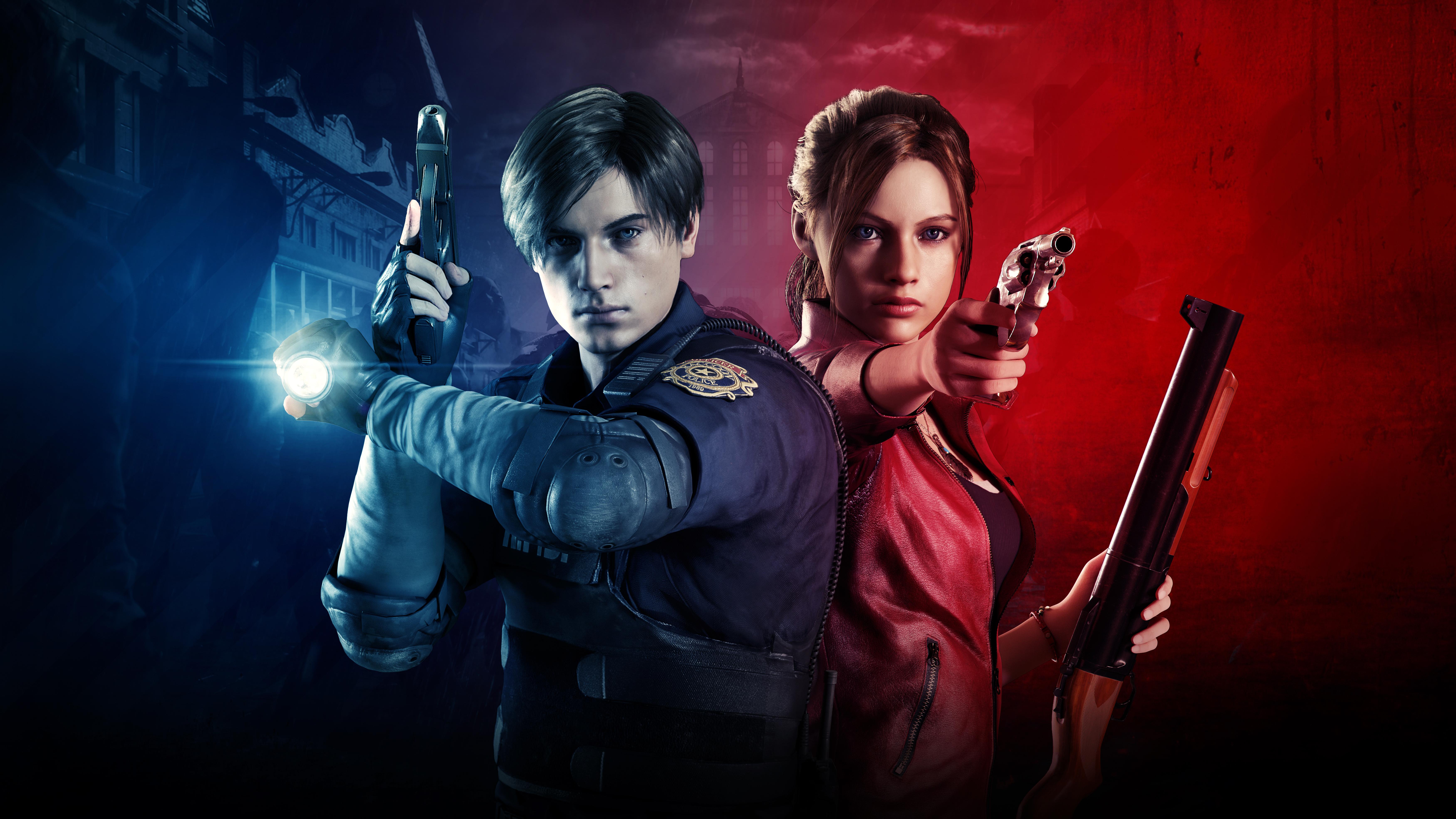 Resident Evil 2 2019 5k Retina Ultra Hd Wallpaper Background