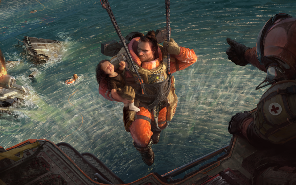 Video Game Apex Legends Gibraltar HD Wallpaper | Background Image