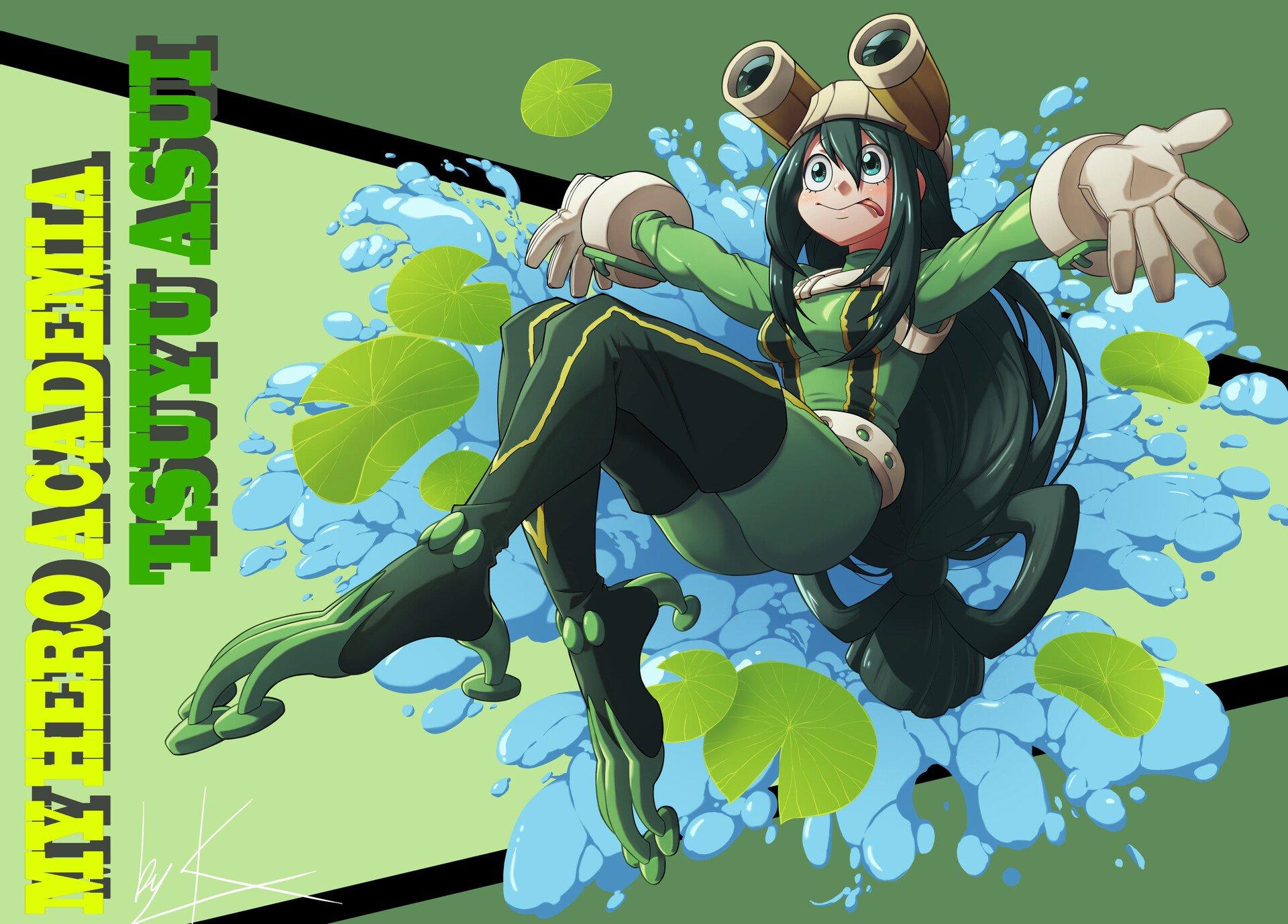 Tsuyu Asui Hd Wallpaper Background Image 1920x1378 Id