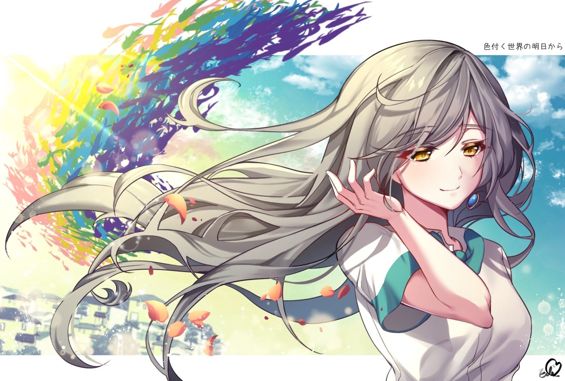 Hitomi Tsukishiro HD Wallpaper   Background Image