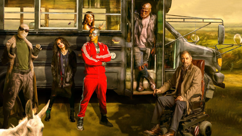 Doom Patrol Hd Wallpaper Background Image 3000x1688