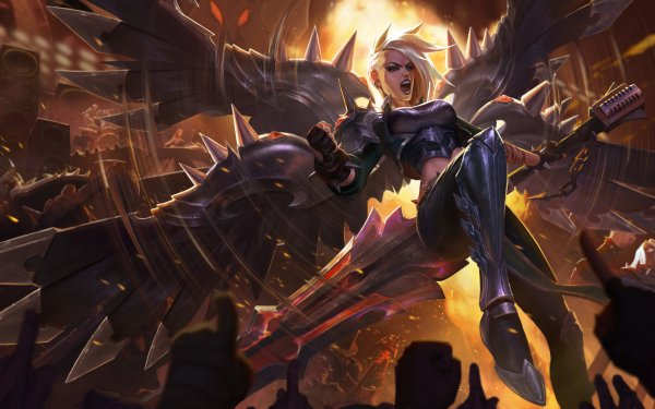 Video Game League Of Legends Kayle Pentakill HD Wallpaper   Background Image