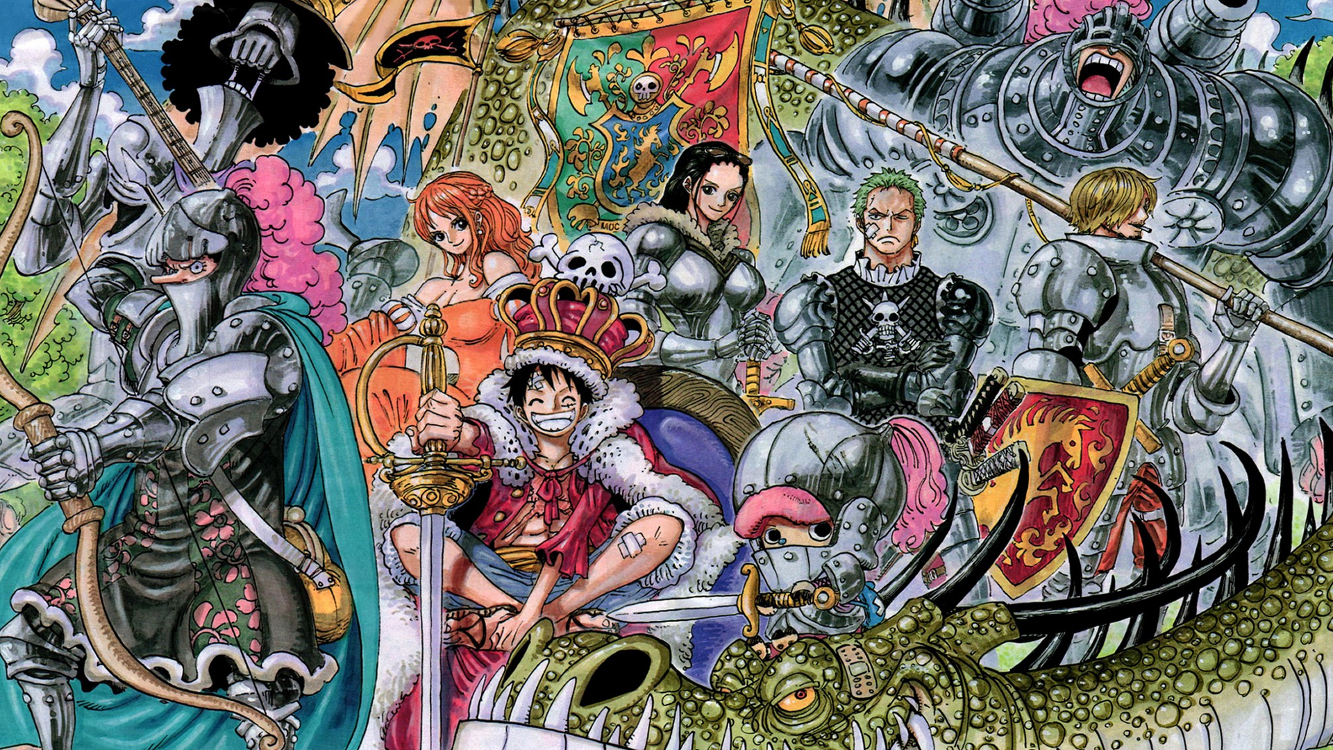 One Piece Fond d'écran HD | Arrière-Plan | 1920x1080 | ID:996396 - Wallpaper Abyss