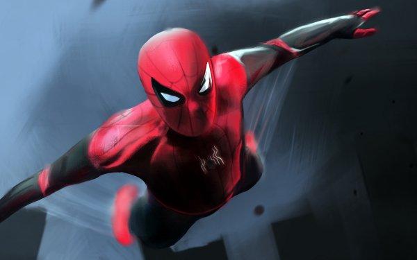 Movie Spider-Man: Far From Home Spider-Man HD Wallpaper   Background Image